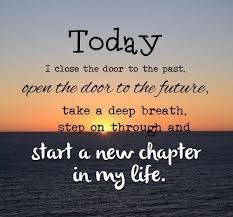 start new chapter