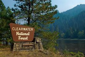Clearwater NF sign