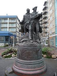 lewis and clark in seaside 2