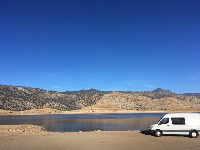 Lake Isabella campsite