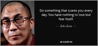 nothing to fear-Dalia Llama