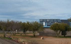 Roosevelt Lake 2 - solar showers