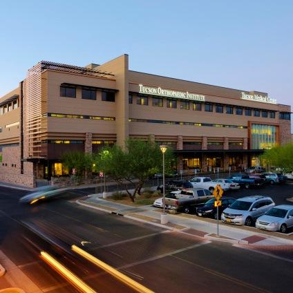 TMC-Orthopedic-Institute-and-Parking-Garage_Square_Front