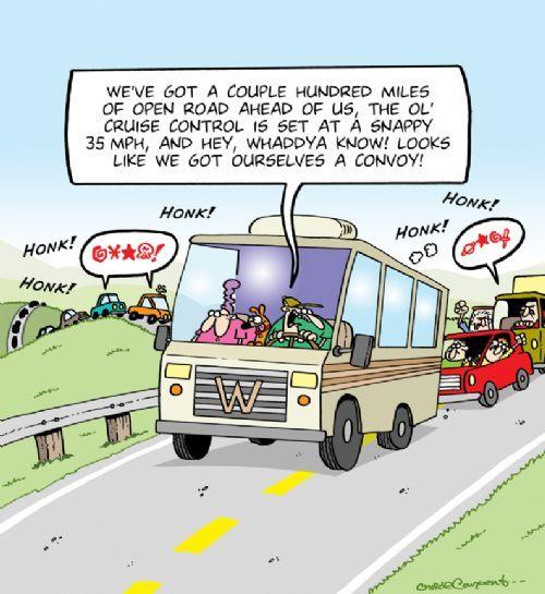 RV 13 - driving cartoon