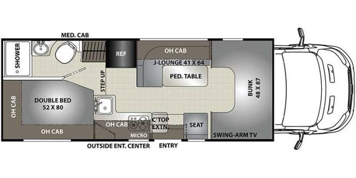 Quail 1 - floorplaln